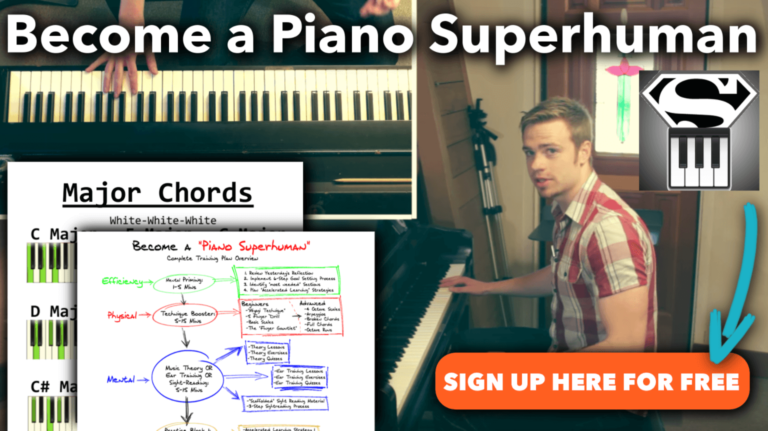 learn piano - become a piano superhuman sign up