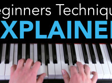 Beginners piano technique explained thumbnail