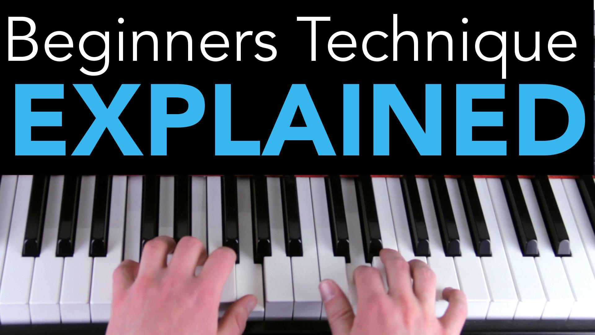 Bedwelming Beginners Piano Technique Explained #ZI65