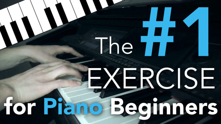 The BEST Piano Exercise for Beginners - Become a Piano