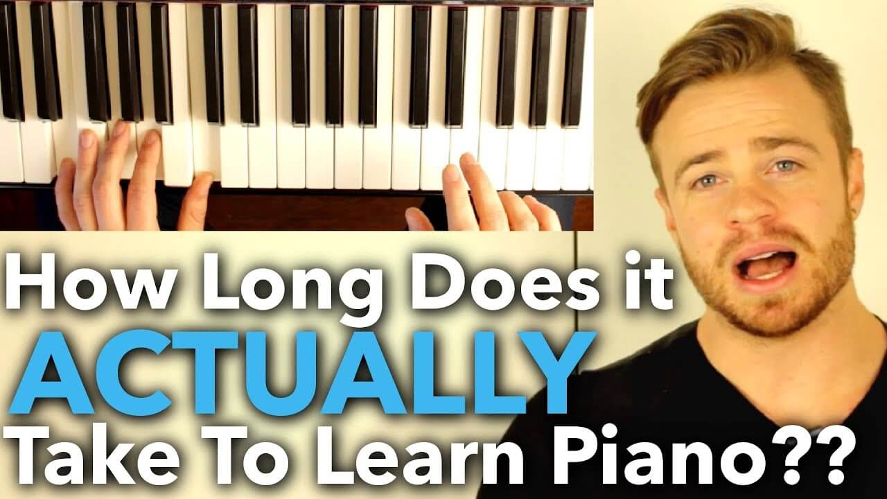 How Long Does it ACTUALLY Take to Learn Piano?? ANSWERED